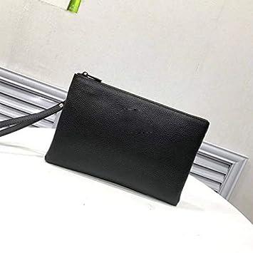 Andre Home Bolso de Embrague de Cartera Bolso de Sobres para Hombre Bolso de Embrague (Color : Black): Amazon.es: Hogar