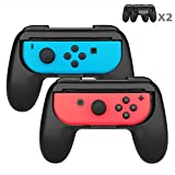 Joy-Con Grips for Nintendo Switch – J-DEAL 2 Pack Nintendo Switch Joy-Con Controllers Wear-resistant Joy-Con Charging Grip Kit Joy-Con Handle For Sale