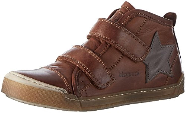 Bisgaard 40704216, Unisex Kids' Low-Top Sneakers, Brown (500 Cognac), 7 Child UK (24 EU)