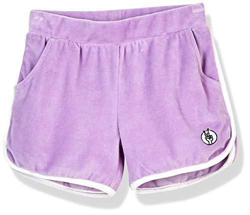 Kid Nation Girls Elastic Sport Retro Shorts 4-12 Years