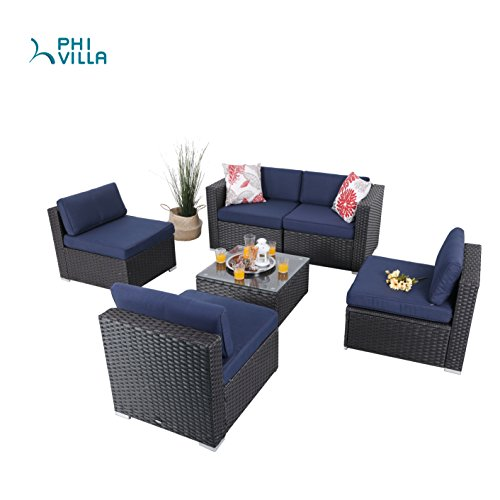 Light Blue Patio Furniture in US - 9