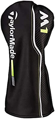 TaylorMade New 2017 M1 Black/White/Lime Green Leather Fairway Headcover