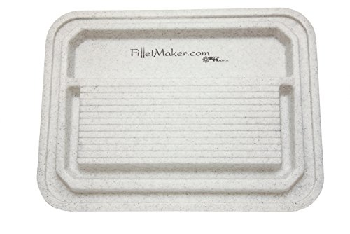 Master Filletmaker Double-Sided Utility Cutting Board (H-3.25'', W-24'', L-32.25'') (White) by FilletMaker (Image #5)