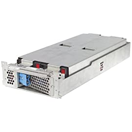 APC UPS Battery Replacement for APC Smart-UPS Models SMT2200RM2U, SMT200RM2UC, SMT3000RM2U, SMT3000RM2UC, SMT2200RM2UNC, SMT2200US,  SMT3000RM2UNC, SMT3000US, SUA2200RM2U, SUA2200RM2US, SUA3000RM2U, SUM3000RMXL2U and select others (RBC43) 17 Genuine APC replacement battery cartridges (RBC) are tested and certified for compatibility to restore UPS performance to the original specifications. Includes all required connectors, Battery recycling guide, Installation guide, Metallic battery tray or enclosure, Reusable packaging RBC43 is compatible with many APC models including SMT2200RM2U, SMT3000RM2U, SUA2200RM2U, SUA3000RM2U, SUA3000RMT2U, SUM1500RMXL2U, SUM3000RMXL2U, SUM48RMXLBP2U and more. See product page for complete list.