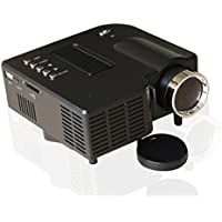 LightInTheBox QVGA 400 LM Mini HD Home LCD Projector with HDMI Input (Assorted Colors)Home Video Movie Theater Mini Projectors, Color=White