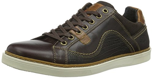 Dockers by Gerli Herren 38po009-102 Low-Top Braun (schoko 360)