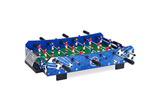 KICK Compact Mini Tabletop Foosball Table Squire, 33 in