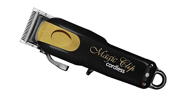 Cortapelos Profesional Wahl Magic Clip Cordless Negro/Oro Limited Edition: Amazon.es: Salud y cuidado personal