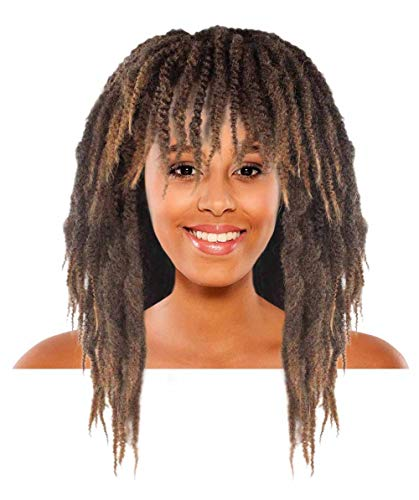 Halloween Party Online Rasta Dreadlock Brown Wig HW-1534