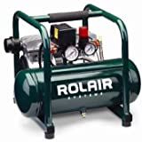 Rolair JC10 1 HP Oil-Less Compressor...