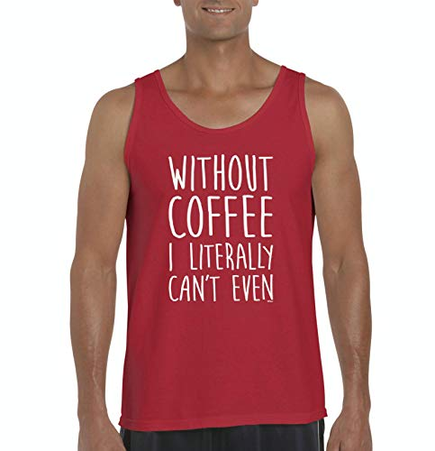Without Coffee I Can't Even Funny Men's Ultra Cotton Tank Top (MR)