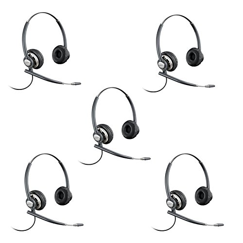 Plantronics EncorePro HW720 Customer Service Headset (Certified Refurbished)- 5 Pack by Merritt Communications