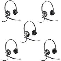 Plantronics EncorePro HW720 Customer Service Headset (Certified Refurbished)- 5 Pack