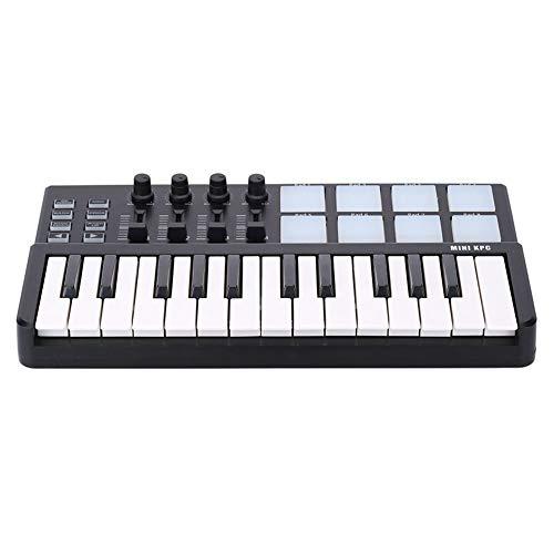 Zizu store - WORLDE Panda MIDI Keyboard 25 Keys Mini Piano USB Keyboard and Drum Pad MIDI Controller