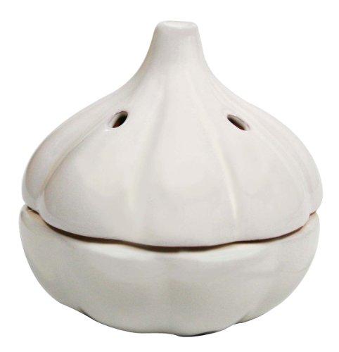 MSC International Terracotta Garlic Keeper, (Garlic Pot)