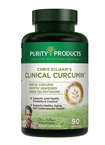 Chris Kilham's Clinical Meriva® Curcumin Formula – up to 29X Better Absorption – Full 1 Gram Clincal Dose of The Renowned Meriva® Bioavailable Curcumin – 90 Capsules from Purity Products For Sale