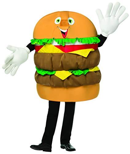 Rasta Imposta Cheeseburger Mascot