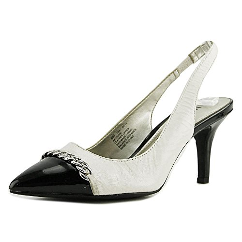ivory and black dress shoes - 3