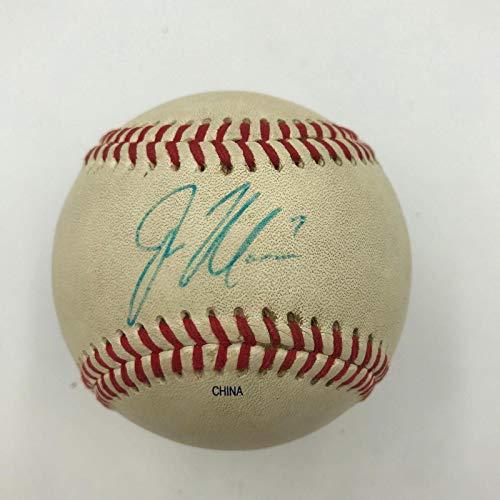 Joe Mauer Signed Baseball - Earliest Known 2001 Pre Rookie Minor League COA - JSA Certified - Autographed Baseballs