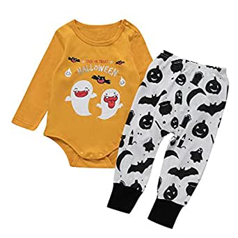 Yinshao Infantil Disfraz Halloween Recien Nacido Niña Niño Bebe ...
