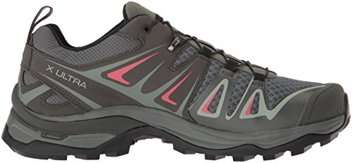 Basses Gris Shadow W 000 X Chaussures Ultra 3 de Mineral Salomon Randonnée Femme Red Gray Castor wAqfB0anx