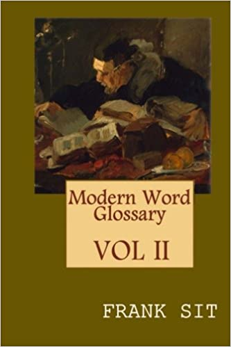 amazon modern word glossary frank sit linguistics