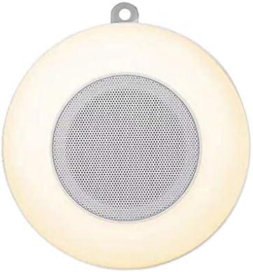 Fornateu Altavoces inalámbricos al Aire Libre IP46 a Prueba de Agua Caja de Sonido de Control táctil LED Regulable Lámpara Colorida de la Noche: Amazon.es: Hogar