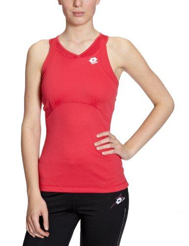 Lotto Sport Damen Tank Muse - Chaleco para mujer de deporte geranium (geranium)