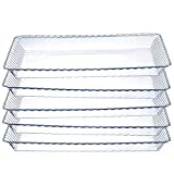 Set of 6 - Plastic Serving Trays, Disposable Trays For Party's Weddings Holiday FS