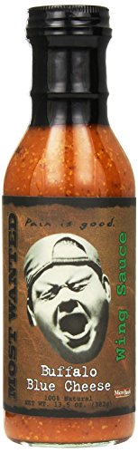 Pain Is Good Buffalo Blue Cheese Screaming Wing Sauce, 13.5 Ounce