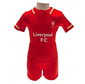 7ee4bde50 Baby Liverpool FC Football Club Shirt   Shorts Gift Clothes Outfit 18-23  Months  Amazon.co.uk  Baby