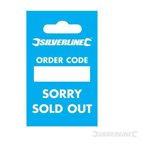 Silverline 633497 Re-Order Tags 100pk