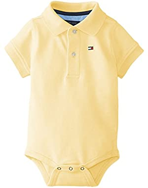 Tommy Hilfiger Baby Boys' Short Sleeve Ivy Bodysuit!