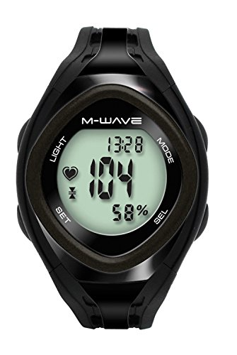 Universal Cycling Monitor Group (M-Wave Beat 30 Heart Rate Monitor, Black)