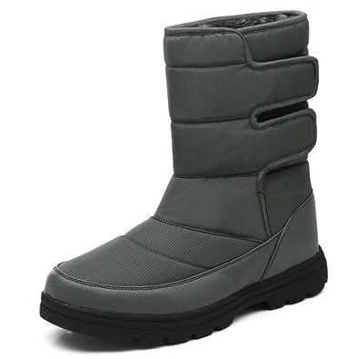 Amazon.com | aeepd Winter Snow Boots Men Women Lightweight