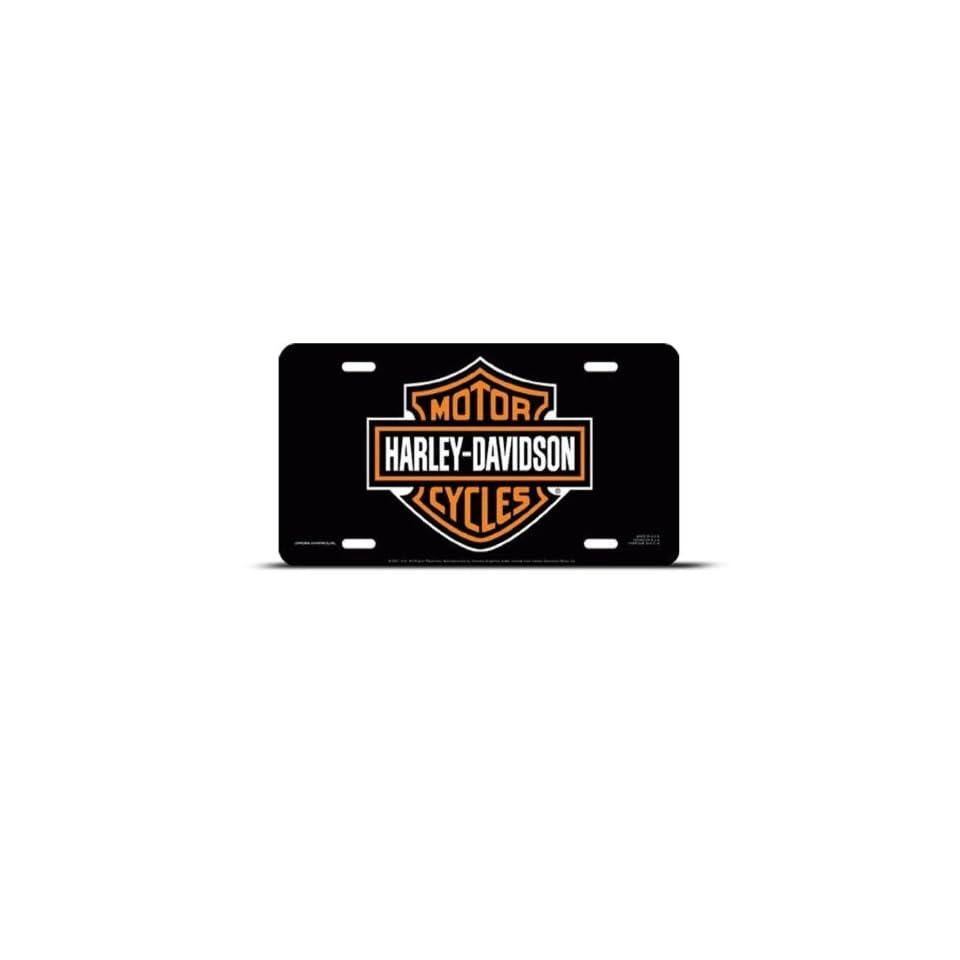 Harley Davidson Metal Novelty Car Auto License Plate Wall