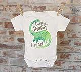 Babysaurus Baby Name Personalized Onesie®, Custom Baby Onesie, Customized Onesie, Cute Onesie, Funny Onesie, Boho Baby Onesie, Boy Name Onesie