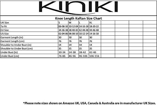 Kiniki Amalfi Blue Tan Through Knee Length Kaftan Swimwear