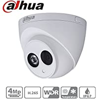 Dahua Cctv IP Camera IPC-HDW4431C-A 3.6Mm 4MP Dome Camera IR Night Version 50M IP67 Onvif H.265 Security Camera International Version