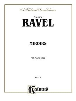 Miroirs for piano solo kalmus edition ebook maurice for Application miroir pc