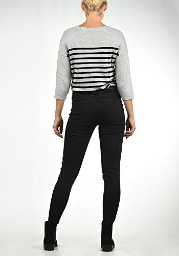 Pantaloni Donna Mid Colore rise Elastica Taglia black Skinny Denim xl Vero Moda Jenna Jeans L32 Da Fit q7wx8IY1