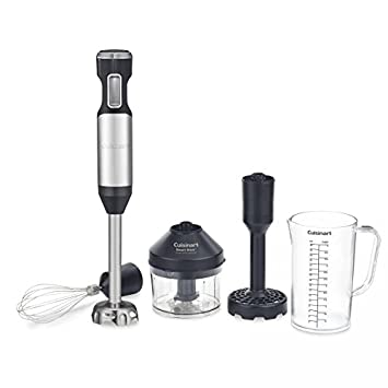 Cuisinart CSB-100 Smart Stick Variable Speed Hand Blender, Stainless Steel <span at amazon