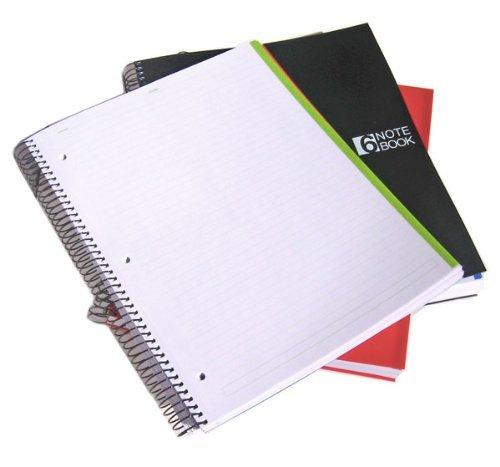 miquelrius notebook  : Miquelrius 8.5 x11 Wirebound Notebook, 6-Subject ...