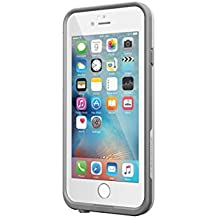 """Lifeproof FRE iPhone 6 Plus/6s Plus Waterproof Case (5.5"""" Version) - Retail Packaging - AVALANCHE (BRIGHT WHITE/COOL GRAY)"""