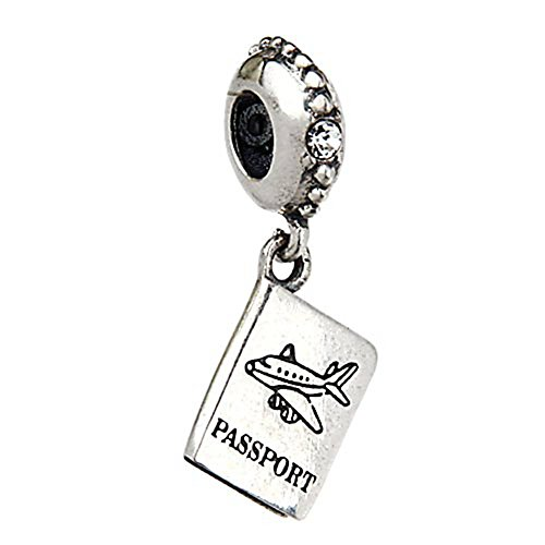 Choruslove Airplane Passport Sterling Compatible product image