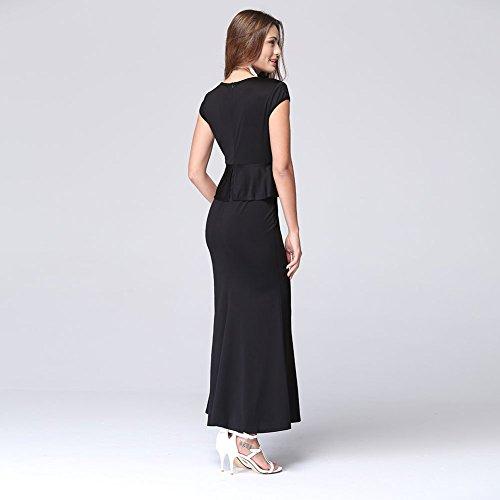 Blansdi Damen Mädchen Frauen Sommer Boho Maxi lange Strandkleid ...