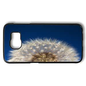 Samsung Galaxy S6 Case, Flyffy Dome Dandelion Hard Shell Case Back Cover for Samsung Galaxy S6 PC Plastic Black