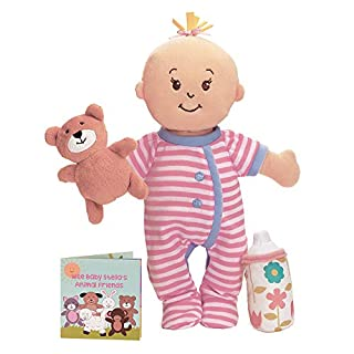 "Manhattan Toy Wee Baby Stella Sleepy Time Scents Soft Doll Set, 12"""