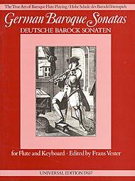 German Baroque Sonatas, Flute/ ()