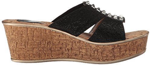 Nadia Liberty Sandal Schwarz Wedge Damen Ll Love cxEfSHS